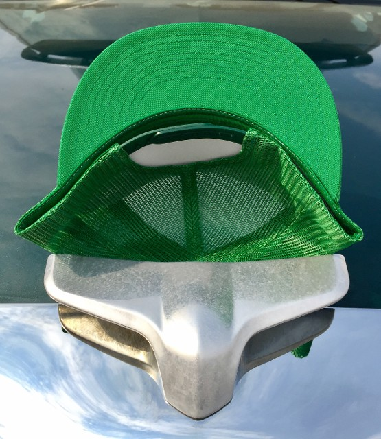 Green Hat, Underside and Back