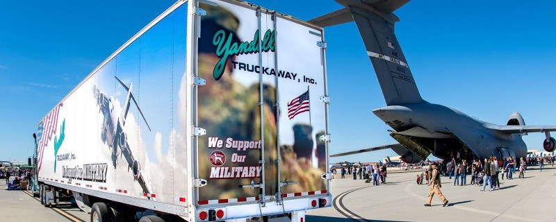 Yandell Truck and Military Plane